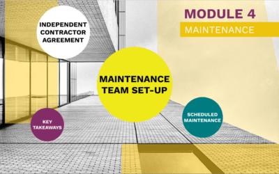 Plan. Manage. Profit. Module 4: Maintenance coming soon on Teachable.com